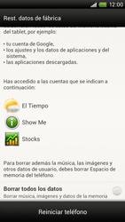 Restaura la configuración de fábrica - HTC ONE X  Endeavor - Passo 6