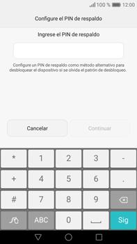 Desbloqueo del equipo por medio del patrón - Huawei Mate 8 - Passo 10