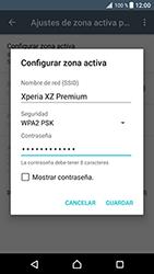 Configura el hotspot móvil - Sony Xperia XZ Premium - Passo 9