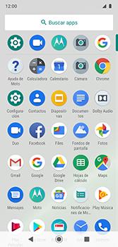 Envía fotos, videos y audio por mensaje de texto - Motorola Moto G7 Plus - Passo 2