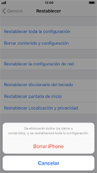 Restaura la configuración de fábrica - Apple iPhone 8 - Passo 6