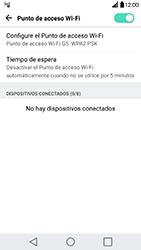 Configura el hotspot móvil - LG G5 - Passo 10