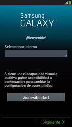 Activa el equipo - Samsung Galaxy S4 Mini - Passo 5