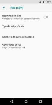 Configura el Internet - Motorola Moto G6 Play - Passo 8