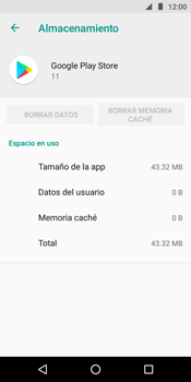 Limpieza de aplicación - Motorola Moto E5 - Passo 10