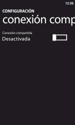 Configura el hotspot móvil - Nokia Lumia 800 - Passo 5