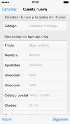 Crea una cuenta - Apple iPhone 5s - Passo 18