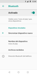 Conecta con otro dispositivo Bluetooth - Motorola Moto E5 Play - Passo 7
