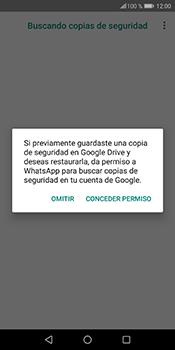 Configuración de Whatsapp - Huawei P Smart - Passo 12