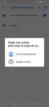 Realiza una copia de seguridad con tu cuenta - Huawei P30 - Passo 10
