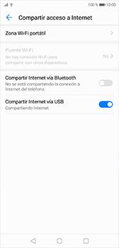 Comparte la conexión de datos con una PC - Huawei P20 - Passo 8