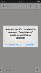 Uso de la navegación GPS - Apple iPhone 5s - Passo 6