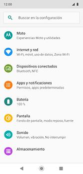 Configura el Internet - Motorola Moto G7 Plus - Passo 4