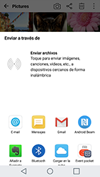 Transferir fotos vía Bluetooth - LG G5 - Passo 8