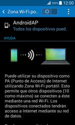 Configura el hotspot móvil - Samsung Galaxy Core 2 - G355 - Passo 6