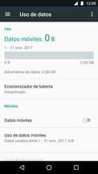 Desactiva tu conexión de datos - Motorola Moto G5 - Passo 6