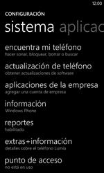 Restaura la configuración de fábrica - Nokia Lumia 620 - Passo 4