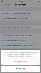Restaura la configuración de fábrica - Apple iPhone 8 - Passo 7