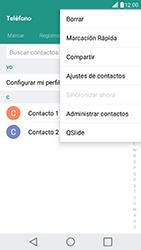 ¿Tu equipo puede copiar contactos a la SIM card? - LG G5 SE - Passo 5