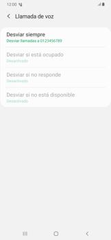 Habilitar el desvío de llamadas - Samsung Galaxy A30 - Passo 13