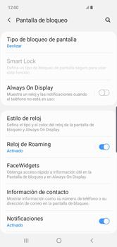 Activa o desactiva el uso del código de seguridad - Samsung S10+ - Passo 4