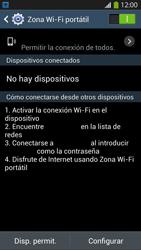 Configura el hotspot móvil - Samsung Galaxy S4  GT - I9500 - Passo 11