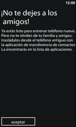Activa el equipo - Nokia Lumia 800 - Passo 13