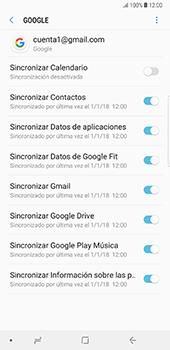 Desactivar la sincronización automática - Samsung Galaxy Note 8 - Passo 8