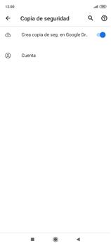 Realiza una copia de seguridad con tu cuenta - Xiaomi Redmi Note 9 Pro - Passo 10