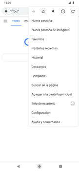 Navegar por internet - Motorola One Zoom - Passo 8