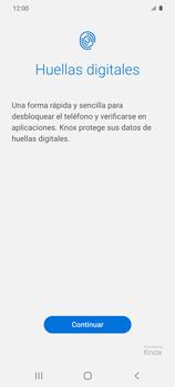 Habilitar seguridad de huella digital - Samsung Galaxy S20 - Passo 5