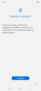 Habilitar seguridad de huella digital - Samsung Galaxy S10 Lite - Passo 5
