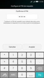 Desbloqueo del equipo por medio del patrón - Huawei G Play Mini - Passo 13