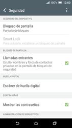 Desbloqueo del equipo por medio del patrón - HTC One A9 - Passo 5
