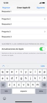 Crea una cuenta - Apple iPhone XS Max - Passo 13