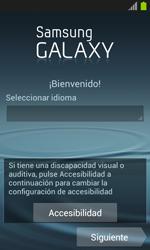 Activa el equipo - Samsung Galaxy Win - I8550 - Passo 3