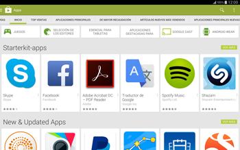 Instala las aplicaciones - Samsung Galaxy Note Pro - Passo 5