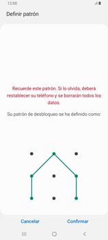Desbloqueo del equipo por medio del patrón - Samsung Galaxy A80 - Passo 10