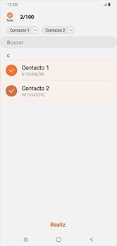 ¿Tu equipo puede copiar contactos a la SIM card? - Samsung Galaxy A10 - Passo 10