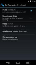 Desactiva tu conexión de datos - Motorola Moto G - Passo 5