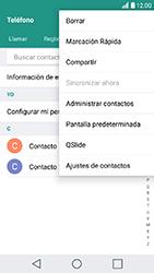 ¿Tu equipo puede copiar contactos a la SIM card? - LG K10 2017 - Passo 6