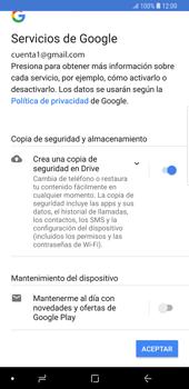 Crea una cuenta - Samsung Galaxy S9 Plus - Passo 18