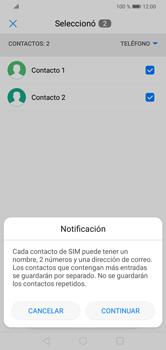 ¿Tu equipo puede copiar contactos a la SIM card? - Huawei Y7 2019 - Passo 8