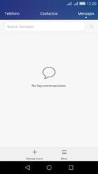 Envía fotos, videos y audio por mensaje de texto - Huawei Y6 - Passo 2