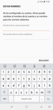 Configura tu correo electrónico - Samsung Galaxy S9 Plus - Passo 17