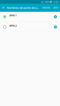 Configura el Internet - Samsung Galaxy Note 5 - N920 - Passo 16