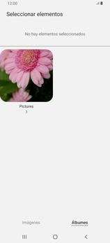 Envía fotos, videos y audio por mensaje de texto - Samsung Galaxy A80 - Passo 18
