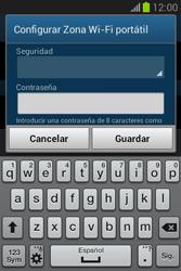 Configura el hotspot móvil - Samsung Galaxy Fame Lite - S6790 - Passo 9