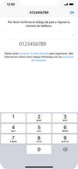 Configuración de Whatsapp - Apple iPhone 11 - Passo 7