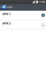 Configura el Internet - LG L70 - Passo 17